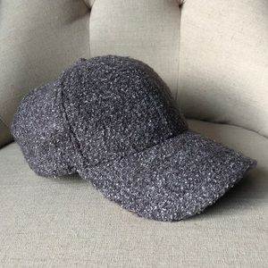 Anthropologie Sparkly Tweed Hat